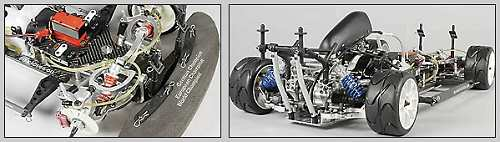 FG Modellsport Competition Evo 08 Chassis