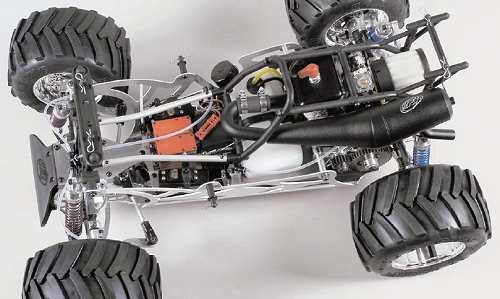 FG Modellsport Competition Monster Truck 4WD Chassis