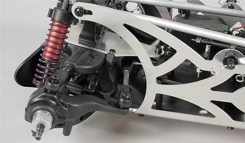 FG Modellsport Monster Hummer H2 Chassis