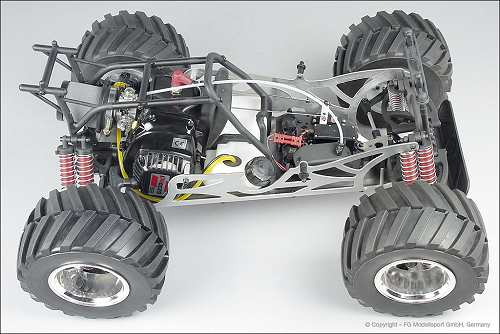 FG Modellsport Monster Jeep 2WD Chassis