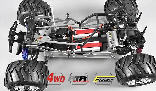FG Monster Truck WB535E - 1:6 Electric Chassis