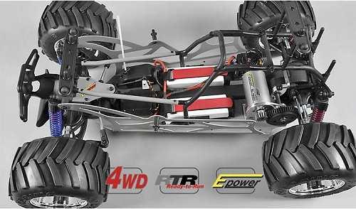 FG Modellsport Monster Truck WB535E 4WD Chassis
