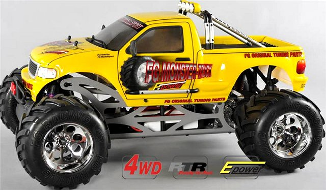 FG Monster Truck WB535E - 1:6 Electric