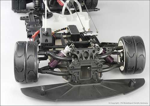 FG Modellsport Sportsline 04 Wide Chassis