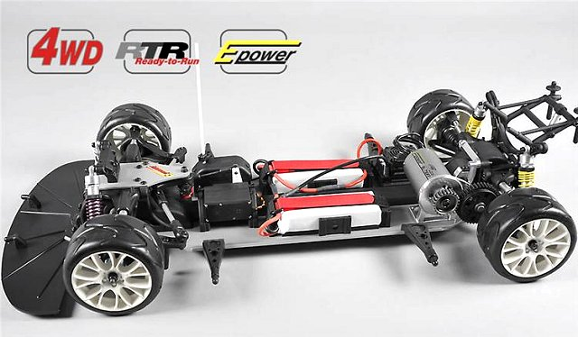 FG Sportsline 530E - 1:5 Electric RC Touring Car Chassis