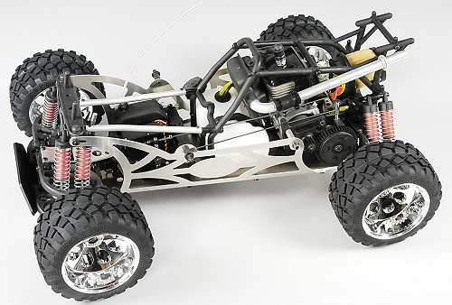 FG Modellsport Stadium Hummer H2 Chassis