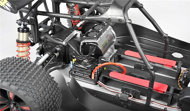 FG TR4E - 1:6 Electric RC Truggy Chassis