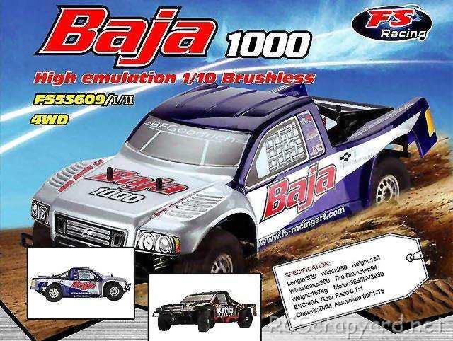 FS Racing Baja 1000 Truck