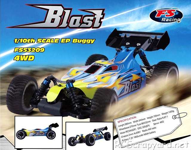 FS-Racing Blast - 1:10 Electric Buggy