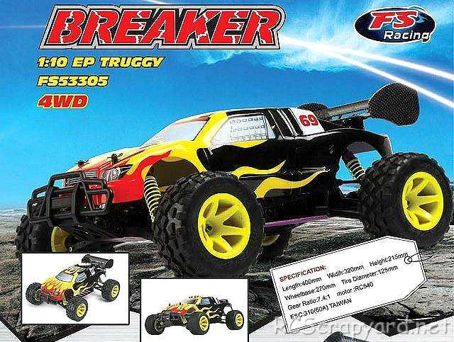 FS Racing Breaker Truggy