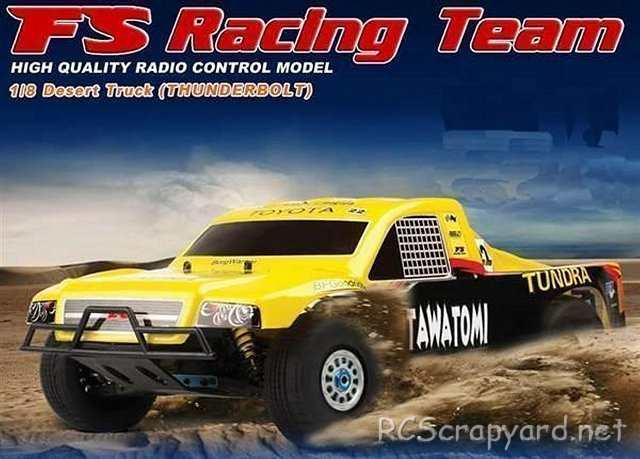 FS Racing Desert Truck - Thunderbolt - 1:8 Nitro
