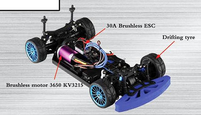 FS-Racing Drift Chassis
