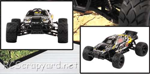FS-Racing Fox-4 Truggy