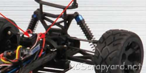 FS-Racing Fox-4 Truggy Chassis