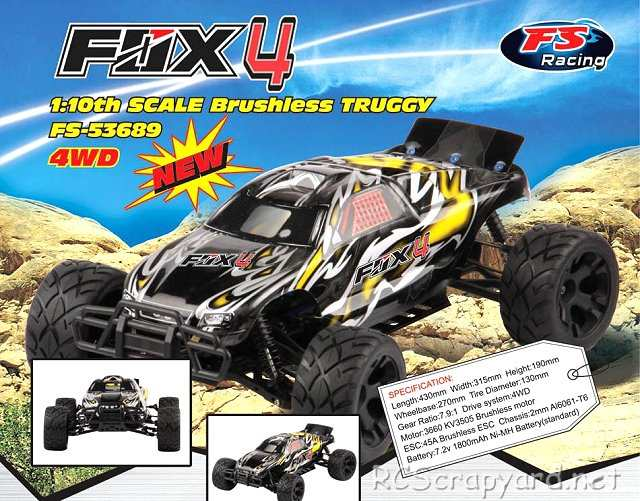 FS Racing Fox 4 Truggy