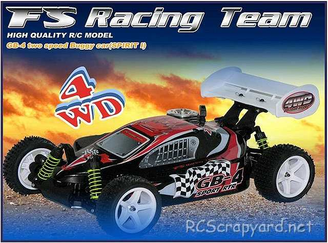 FS Racing GB-4 Sport - 1:10 Nitro 4WD Buggy