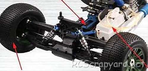 FS-Racing Hammer Truggy Chassis