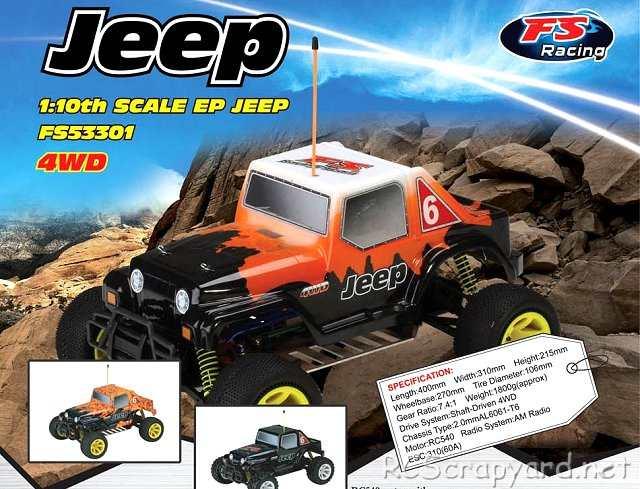 FS Racing Jeep