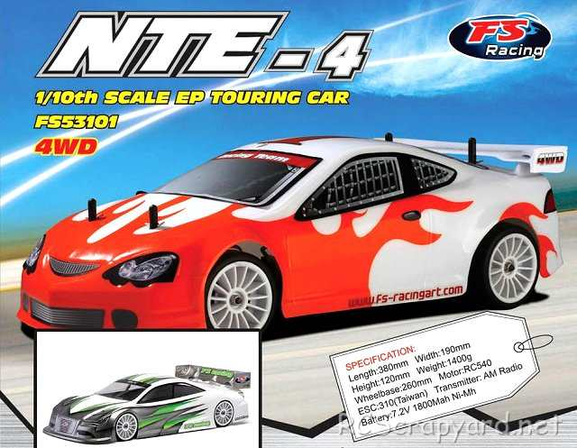 FS-Racing NTE-4 - 1:10 Electric Touring Car