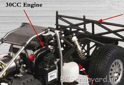 FS-Racing KMC Rally 5T Chassis