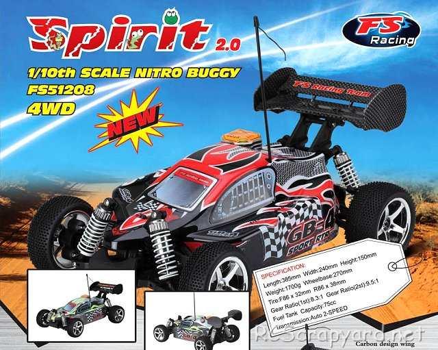 FS Racing Spirit 2.0 - 1:10 Nitro Buggy