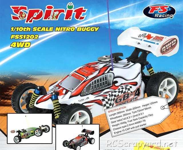 FS Racing Spirit - 1:10 Nitro Buggy