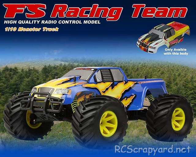 FS Racing Victory - 1:10 Electric Monster Truck