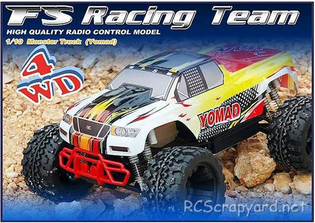 FS Racing Yomad - 1:10 Nitro 4WD Monster Truck