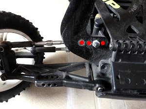 Front Roll Center Camber Link Adjustment Options