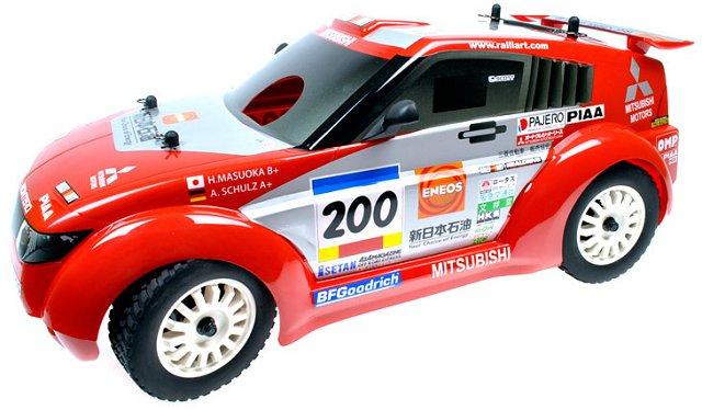 GS Mitsubishi Pajero Conqueror - 1:9 Nitro Rally Car