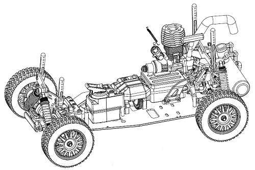 GS Racing Mitsubishi Pajero Conqueror Chassis