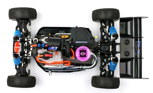 GS Racing Storm CLX Pro Chassis