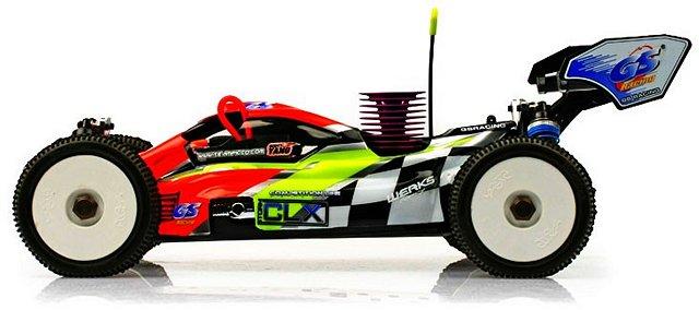 GS Racing Storm CLX Pro - 1:8 Nitro Buggy