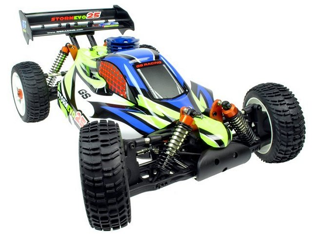 GS Racing Storm Evo 25 - 1:8 Nitro Buggy