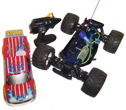 GS Racing Storm Unlimited Chassis