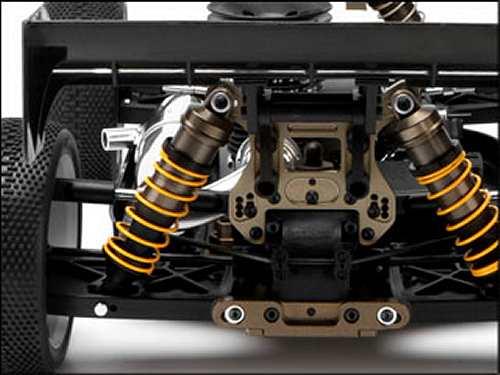 HB D8 Atsushi Hara Edition Chassis