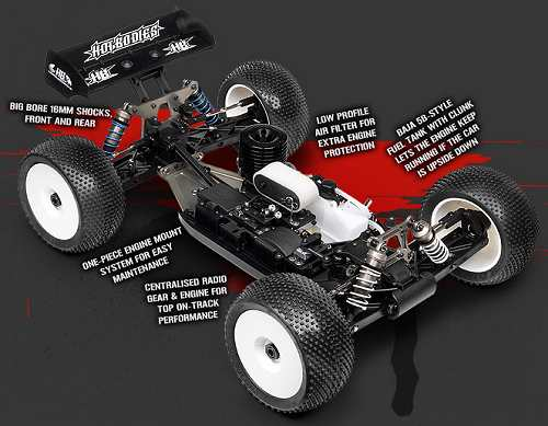 HB D8T Chassis