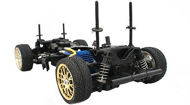 HBX Post 5 Chassis - 1:10 Electric On Road