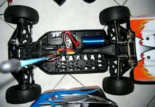 HBX Rocket Chassis