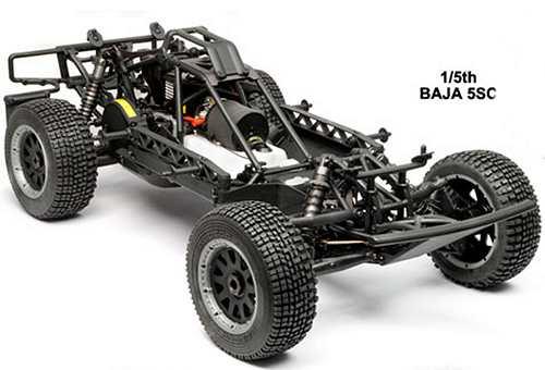 HPI Racing Baja 5SC Chassis