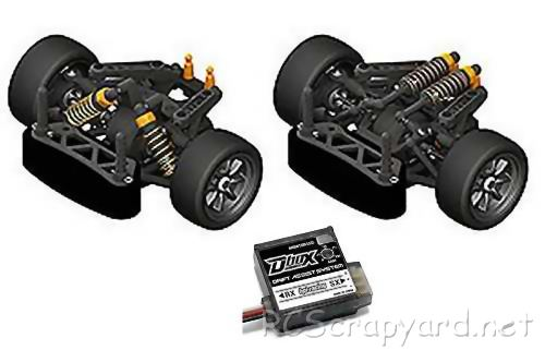HPI Racing Cup Racer 1M Drift Kit Chassis