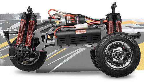 HPI Racing E-Savage Chassis
