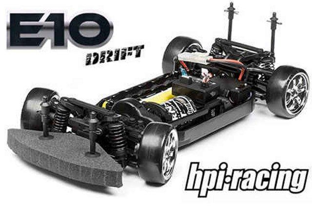 HPI E10 Drift - 1:10 RC Car