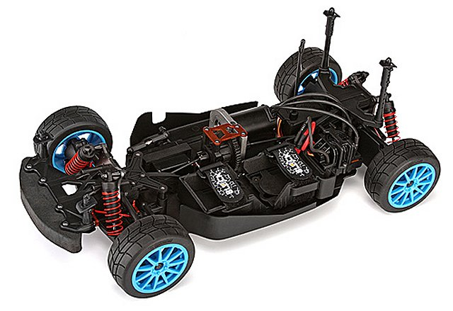HPI Ken Block WR8 Flux Chassis - 1:8 Electric RC Touring Car