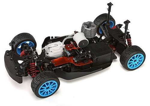 HPI Ken Bolck WR8 3.0 Chassis - 1:8 Nitro Rally Car