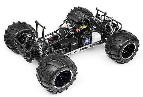 HPI Racing Maverick Blackout MT Chassis
