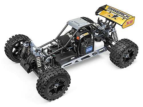 HPI Racing Maverick Blackout XB Chassis