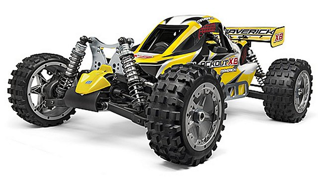 HPI Maverick Blackout XB - 1:5 Nitro Buggy