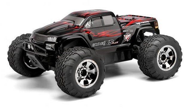 HPI Mini Savage XS Flux - 1:12 Electric Monster Truck