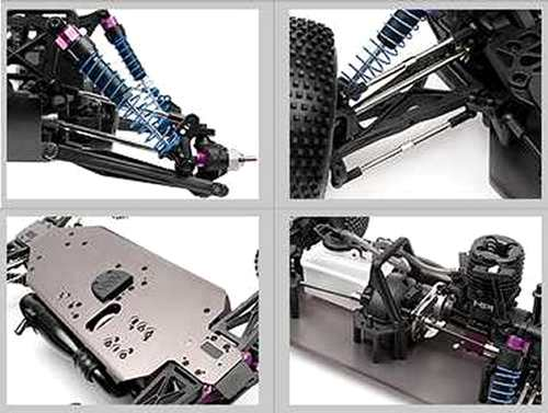 HPI Racing Nitro MT2 18SS+ Chassis